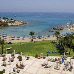 Отель Infinity Blu - Designed for Adults Кипр, Протарас - отзывы, цены и фото номеров - забронировать отель Infinity Blu - Designed for Adults онлайн пляж
