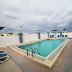 Отель Coral Hotel Мальта, Сан-Пауль-иль-Бахар - 2 отзыва об отеле, цены и фото номеров - забронировать отель Coral Hotel онлайн бассейн фото 2