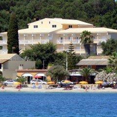 Отель Ipsos Beach Корфу пляж фото 2