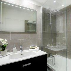 Отель Citadines Part-Dieu Lyon Франция, Лион - 3 отзыва об отеле, цены и фото номеров - забронировать отель Citadines Part-Dieu Lyon онлайн ванная