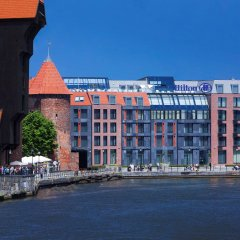Отель Hilton Gdansk Польша, Гданьск - 6 отзывов об отеле, цены и фото номеров - забронировать отель Hilton Gdansk онлайн вид на фасад