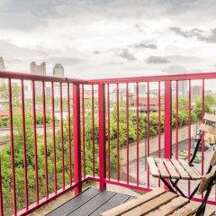 Отель West Side Apartments США, Колумбус - отзывы, цены и фото номеров - забронировать отель West Side Apartments онлайн балкон