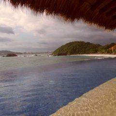 Отель Palmetto Ixtapa 408 пляж