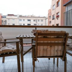 Отель Apartamentos BCN PORT балкон