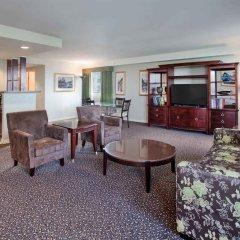 Отель Holiday Inn Vancouver Centre Канада, Ванкувер - отзывы, цены и фото номеров - забронировать отель Holiday Inn Vancouver Centre онлайн комната для гостей фото 3