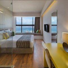 Haifa Bay View Hotel Израиль, Хайфа - 1 отзыв об отеле, цены и фото номеров - забронировать отель Haifa Bay View Hotel онлайн комната для гостей фото 4