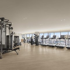Отель The Abu Dhabi Edition фитнесс-зал
