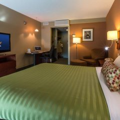 Отель Hôtel & Suites Normandin Канада, Квебек - отзывы, цены и фото номеров - забронировать отель Hôtel & Suites Normandin онлайн комната для гостей фото 2