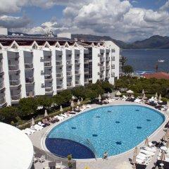 Luna Beach Deluxe Hotel Турция, Мармарис - отзывы, цены и фото номеров - забронировать отель Luna Beach Deluxe Hotel онлайн бассейн фото 3