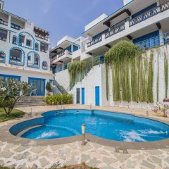 Отель OYO 11897 Home Greek Style 2BHK With Pool Bambolim Гоа бассейн