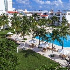 Отель Beachscape Kin Ha Villas & Suites Мексика, Канкун - 2 отзыва об отеле, цены и фото номеров - забронировать отель Beachscape Kin Ha Villas & Suites онлайн бассейн фото 4