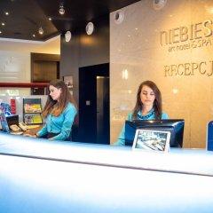 Niebieski Art Hotel & Spa интерьер отеля фото 3