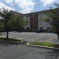 Отель Comfort Suites Hilliard Хиллиард парковка