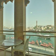 OYO 261 Remas Hotel Apartment Дубай балкон