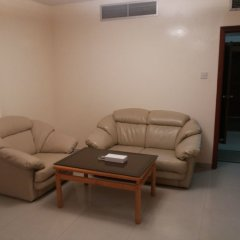 Отель Al Buhairah Hotel Apartments ОАЭ, Шарджа - отзывы, цены и фото номеров - забронировать отель Al Buhairah Hotel Apartments онлайн комната для гостей фото 5