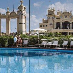 Отель Mondello Palace Hotel Италия, Палермо - отзывы, цены и фото номеров - забронировать отель Mondello Palace Hotel онлайн бассейн фото 3