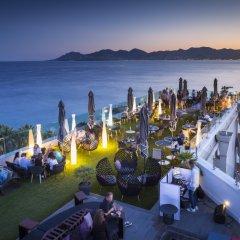 Отель Radisson Blu 1835 Hotel & Thalasso, Cannes Франция, Канны - 2 отзыва об отеле, цены и фото номеров - забронировать отель Radisson Blu 1835 Hotel & Thalasso, Cannes онлайн приотельная территория фото 2
