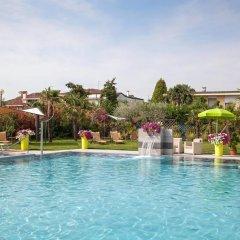 Отель Terme Cristoforo Италия, Абано-Терме - отзывы, цены и фото номеров - забронировать отель Terme Cristoforo онлайн бассейн фото 2