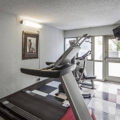 Отель Comfort Inn & Suites Downtown Edmonton фитнесс-зал фото 2