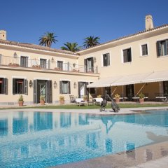 Отель Villa Jerez Испания, Херес-де-ла-Фронтера - отзывы, цены и фото номеров - забронировать отель Villa Jerez онлайн бассейн фото 3