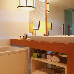 Отель Anantara Vilamoura Португалия, Пешао - отзывы, цены и фото номеров - забронировать отель Anantara Vilamoura онлайн ванная