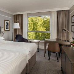 Отель Hyatt Regency London - The Churchill 5* Стандартный номер с различными типами кроватей фото 7