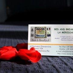 Отель B&B La Meridiana с домашними животными