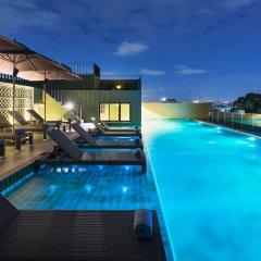 Отель Chillax Heritage бассейн