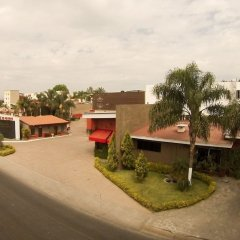 Hotel Posada Virreyes парковка