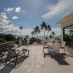 Отель Sam-kah Villa Jade Таиланд, Самуи - отзывы, цены и фото номеров - забронировать отель Sam-kah Villa Jade онлайн балкон