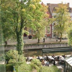 Отель Grand Casselbergh Брюгге приотельная территория