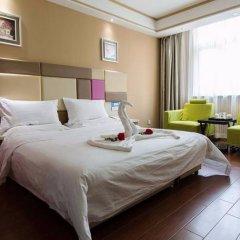 Отель Junyi Hotel Китай, Сиань - отзывы, цены и фото номеров - забронировать отель Junyi Hotel онлайн комната для гостей фото 4