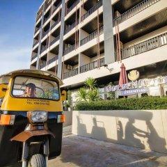 Отель Golden Tulip Essential Pattaya парковка