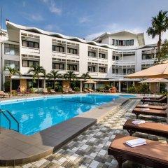 Отель Huong Giang Hotel Resort & Spa Вьетнам, Хюэ - 1 отзыв об отеле, цены и фото номеров - забронировать отель Huong Giang Hotel Resort & Spa онлайн бассейн фото 3