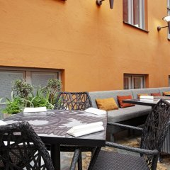 Отель Scandic Klara Стокгольм балкон