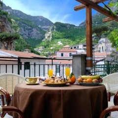 Отель Villa Adriana Amalfi Италия, Амальфи - отзывы, цены и фото номеров - забронировать отель Villa Adriana Amalfi онлайн питание фото 2