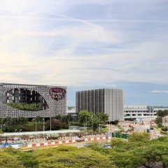 Отель Crowne Plaza Changi Airport Сингапур фото 4