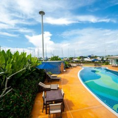 Отель Krabi Boat Lagoon Resort бассейн фото 3