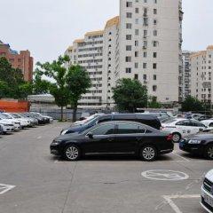 Отель Hejia Inn Beijing Anwai парковка