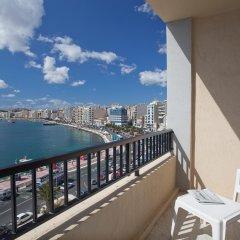 Отель Sliema Marina Hotel Мальта, Слима - отзывы, цены и фото номеров - забронировать отель Sliema Marina Hotel онлайн балкон