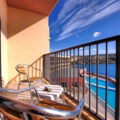 Отель Paradise Bay Hotel Мальта, Меллиха - 8 отзывов об отеле, цены и фото номеров - забронировать отель Paradise Bay Hotel онлайн балкон