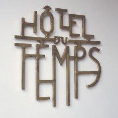Hotel du Temps с домашними животными