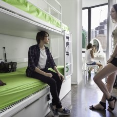 Urbany Hostel Bcn Go! Барселона фитнесс-зал фото 3