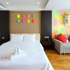 Отель Vacio Suite Бангкок комната для гостей фото 4