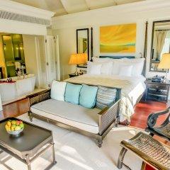 Отель InterContinental Samui Baan Taling Ngam Resort комната для гостей фото 7