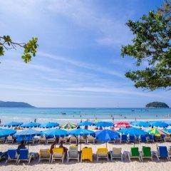 Отель The Beach Heights Resort Таиланд, Пхукет - 7 отзывов об отеле, цены и фото номеров - забронировать отель The Beach Heights Resort онлайн пляж