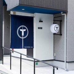 Отель Trip Pod Sumiyoshi C Хаката сейф в номере