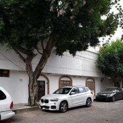 Отель Hermila Tlalpan Suites Мехико парковка