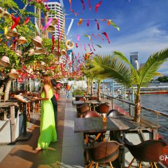 Green Box Hostel Бангкок питание