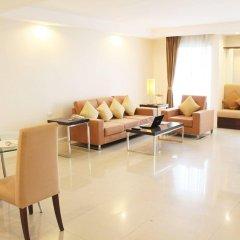 Апартаменты Romance Serviced Apartment Бангкок комната для гостей фото 5